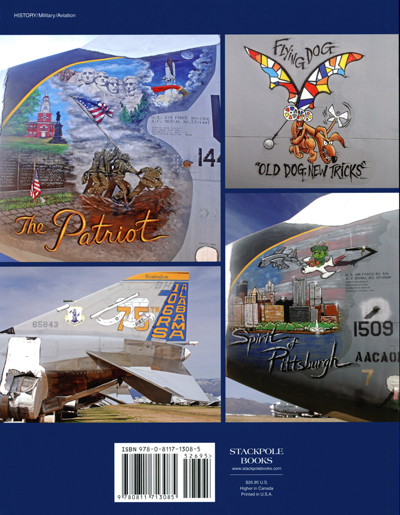 Boneyard Nose Art: U.S. military aircraft markings and artwork by Nicholas A. Veronico, Jim Dunn, and Ron Strong (back cover)