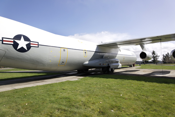 Lockheed C-141B Starlifter— photo by Joseph May