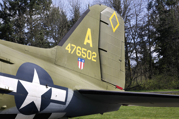 Douglas C-47 Skytrain at McChord Air Museum & Heritage Hill Air Park — photo by Joseph May