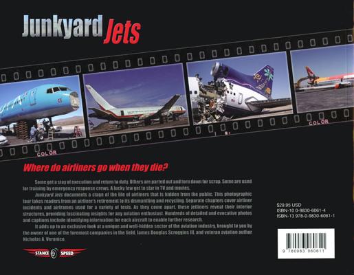 Junkyard Jets by James Douglas Scroggins III and Nicholas A. Veronico (back cover)