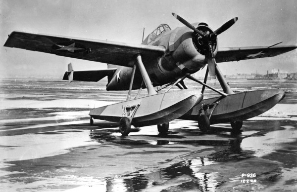 "Grumman F3F-3S ""Wildcatfish"" — San Diego Air & Space Museum photo from the Charles Daniels Collection"