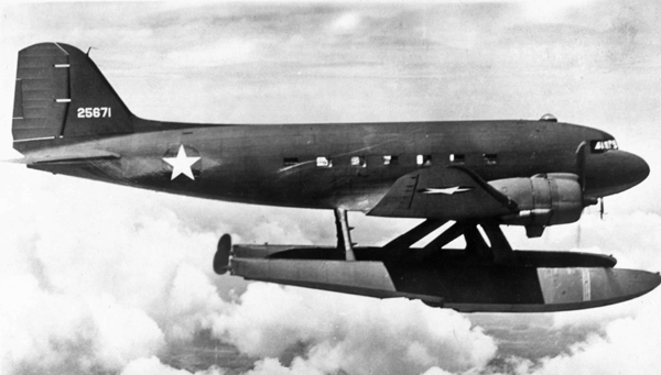 Douglas XC-47C — San Diego Air & Space Museum Archive Charles Daniels Collection photo