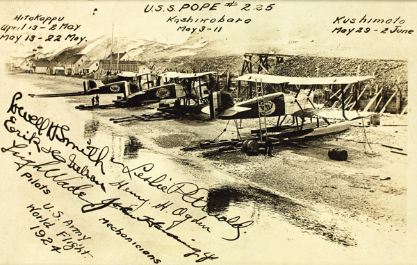Douglas World Cruiser 1924— San Diego Air & Space Museum Archive photo