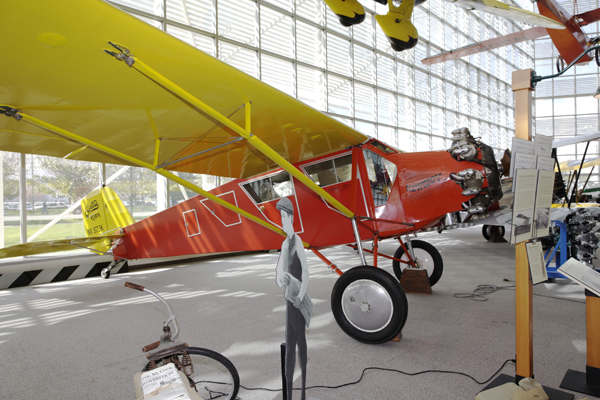 "Curtiss Robin ""The Newsboy"" — photo by Joseph May"