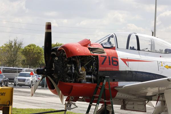 Northrop T-28 Trojan — photo by Joseph May