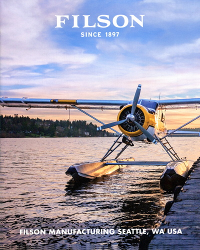 DH Beaver — recent Filson catalog front cover