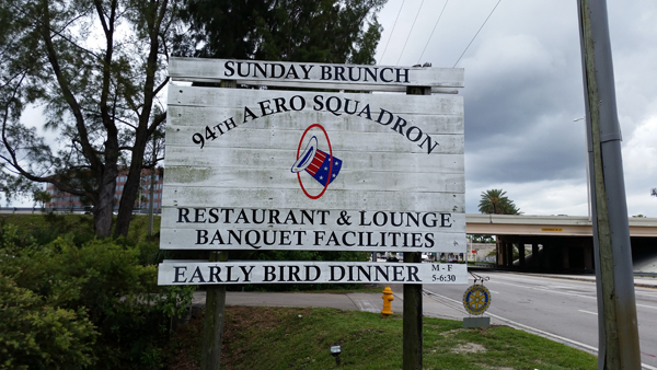 94 Aero Squadron sign — photo by Joseph May