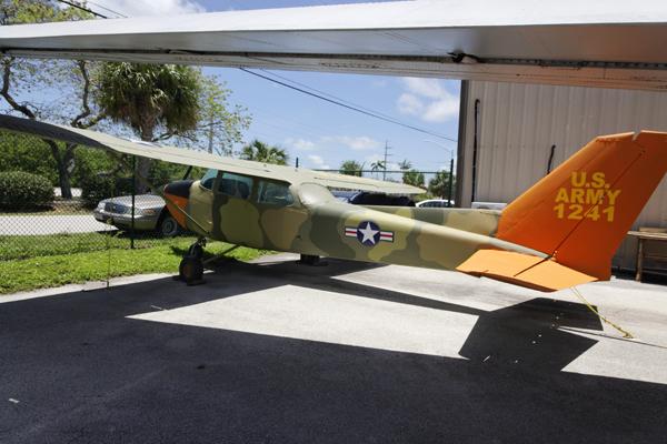 """Cessna 172 """"FAC"""" — photo by Joseph May"""