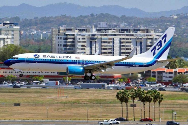 Eastern Air Lines 737 — Eastern Air Lines photo