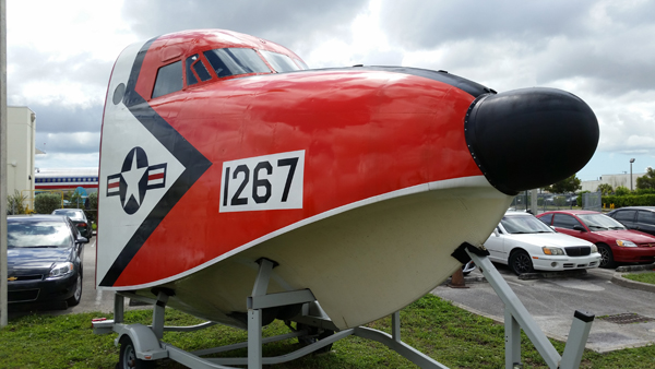 HU-16 Albatross nose — photo by Joseph May