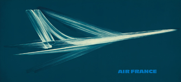 Air France poster by Roger Excoffon in 1964 – image provided by Callisto Publishers