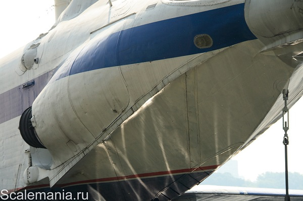 Central Hydrofoil Design Bureau A-90 Orlyonok (Eaglet) hull form detail — copyright and photo by Макс Климов (Max Klimov)