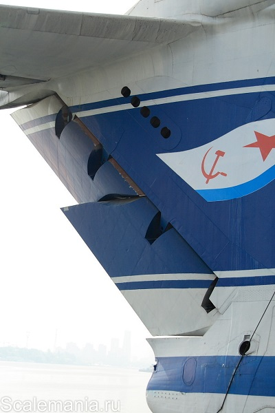 Central Hydrofoil Design Bureau A-90 Orlyonok (Eaglet) vertical stabilizer and rudder assembly — copyright and photo by Макс Климов (Max Klimov)