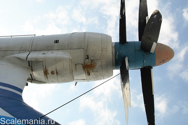 Central Hydrofoil Design Bureau A-90 Orlyonok (Eaglet) profile of the contra-rotating propellers — copyright and photo by Макс Климов (Max Klimov)