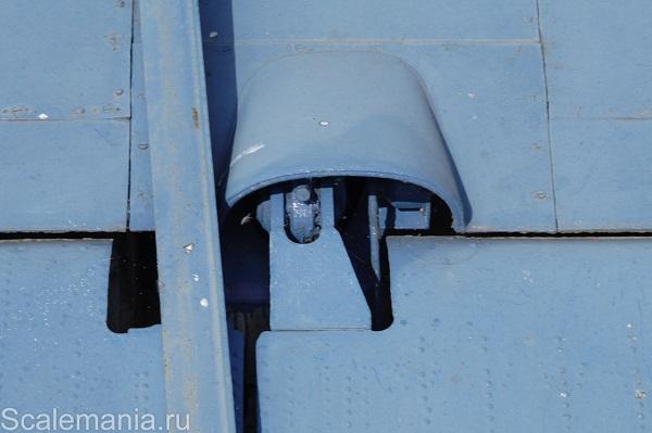 Central Hydrofoil Design Bureau A-90 Orlyonok (Eaglet) wing flap hinge — copyright and photo by Макс Климов (Max Klimov)