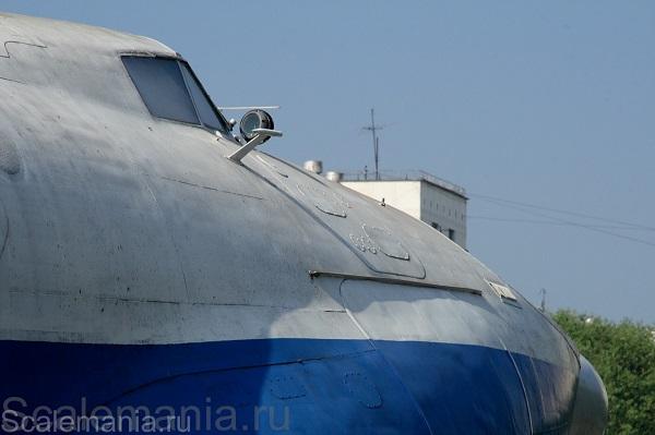 Central Hydrofoil Design Bureau A-90 Orlyonok (Eaglet) view forward — copyright and photo by Макс Климов (Max Klimov)
