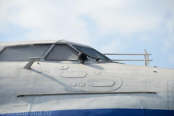 Central Hydrofoil Design Bureau A-90 Orlyonok (Eaglet) cockpit windscreen — copyright and photo by Макс Климов (Max Klimov)