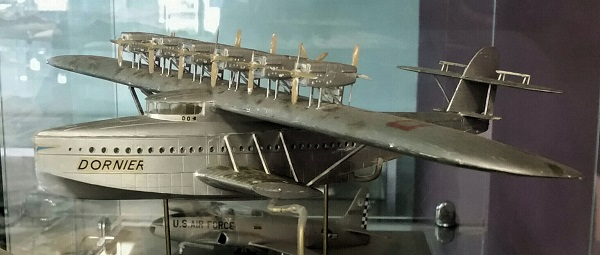 Dornier Do X model (a flying ship instead of flying boats in more ways than one) — photo by Joseph May