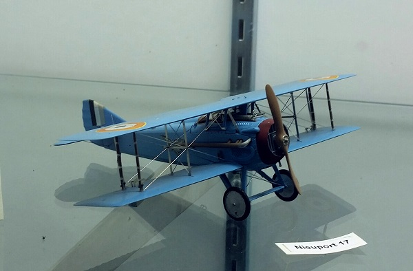 Nieuport 17 model by Eduardo G, Salcedo — photo by Joseph May