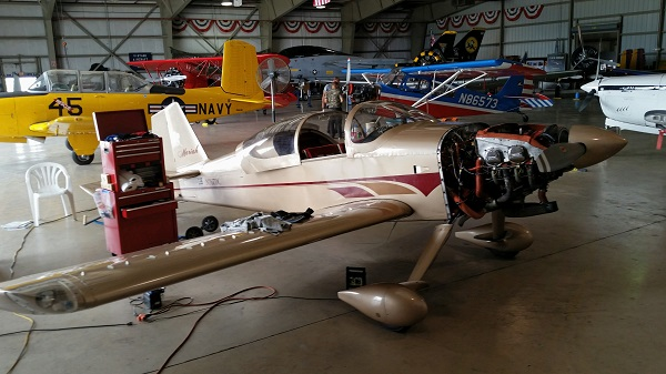 Van's RV-6 high cruise speed STOL homebuilt aircraft — photo by Joseph May