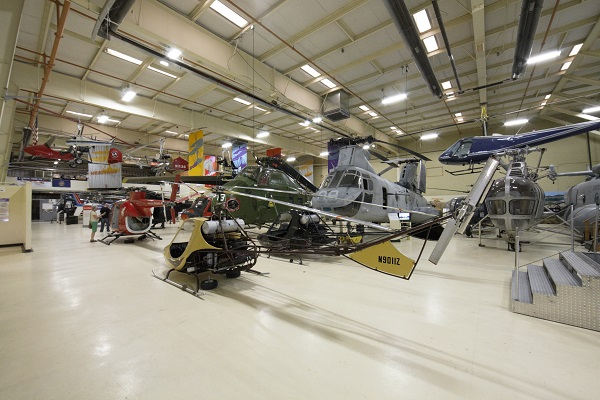 American Helicopter Museum interior — Travel for Aircraft: Joseph May