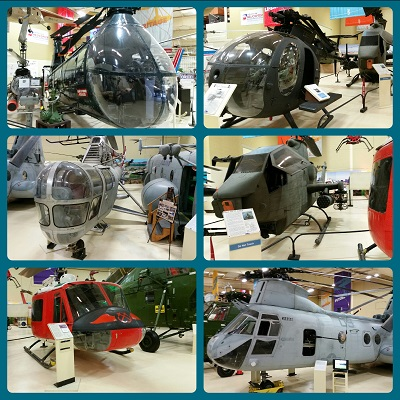American Helicopter Museum collage — Travel for Aircraft: Joseph May