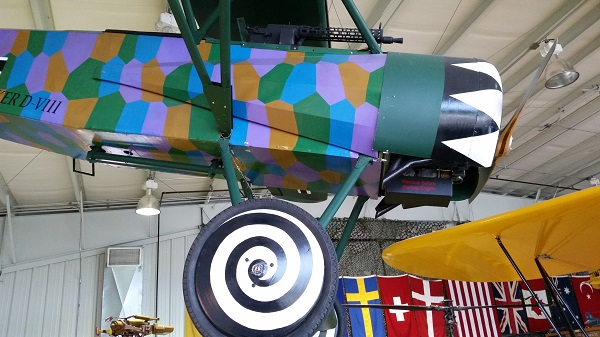 Fokker D.VII replica in the Harold F. Pitcairn Wings of Freedom Museum — Travel for Aircraft: Joseph May