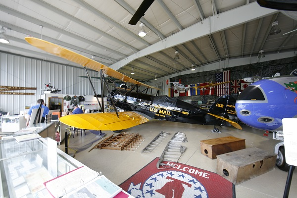 Pitcairn Mailwing in the Harold F. Pitcairn Wings of Freedom Museum — Travel for Aircraft: Joseph May