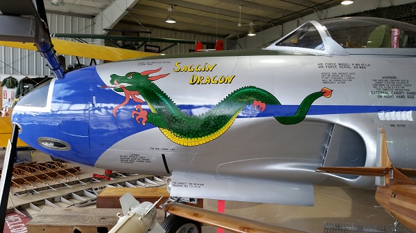 Harold F. Pitcairn Wings of Freedom Museum nose art detail — Travel for Aircraft: Joseph May
