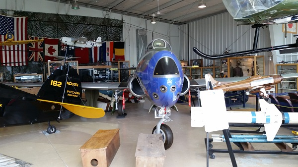 US Navy Lockheed TV-1 Shooting Star in the Harold F. Pitcairn Wings of Freedom Museum — Travel for Aircraft: Joseph May