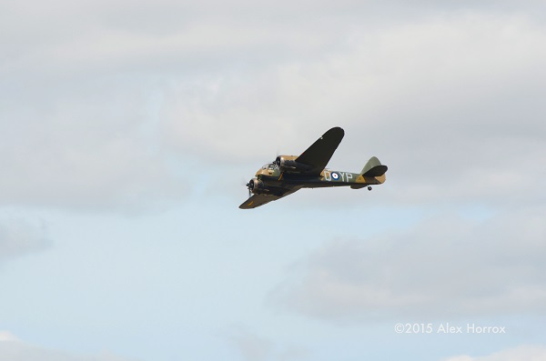 RIAT 2015 Bristol Bleinheim Mk I fly past — copyright Alex Horrox 2015