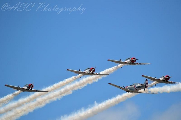 GEICO Skytypers — copyright Air Show Consultant:Ross Sharp