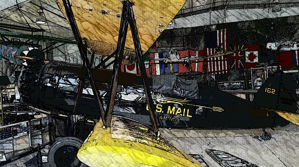 Pitcairn Mailwing at the Harold F. Pitcairn Wings of Freedom Museum — Travel for Aircraft: Joseph May