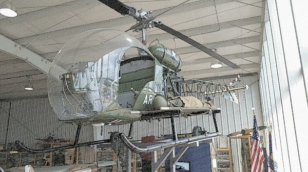 Souix in the Harold F. Pitcairn Wings of Freedom Museum — Travel for Aircraft: Joseph May