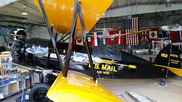 Pitcairn Mailwing — Joseph May:Travel for Aircraft
