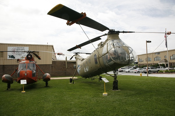 Piasecki CH-21C Shawnee at the American Helicopter Museum — Joseph May:Travel for Aircraft