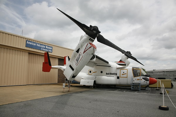 Bell Boeing V-22 Osprey at the American Helicopter Museum — Joseph May:Travel for Aircraft