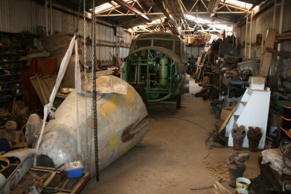 avro anson restoration nhill aviation heritage centre