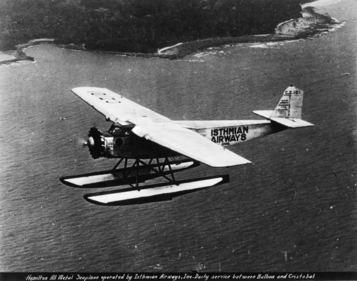 Hamilton H-47 Seaplane Isthmian Airways c1929 Milton Blackstone photo SDASM