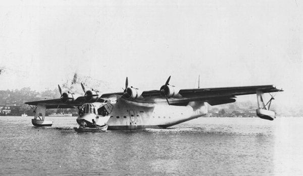 Consolidated XPB2Y Coronado (note the single tail instead of the production twin tail)—San Diego Air and Space Museum image archive