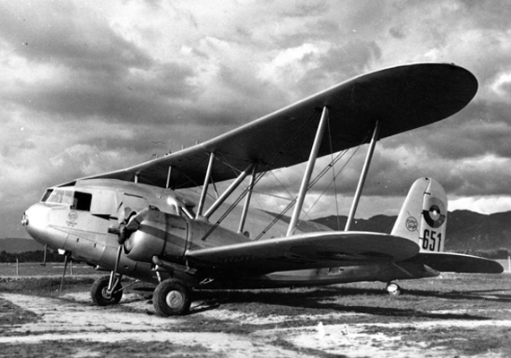 Curtiss Condor—San Diego Air and Space Museum image archive