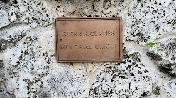 Glenn H. Curtiss Memorial Circle in Miami Springs FL—Joseph May/Travel for Aircraft