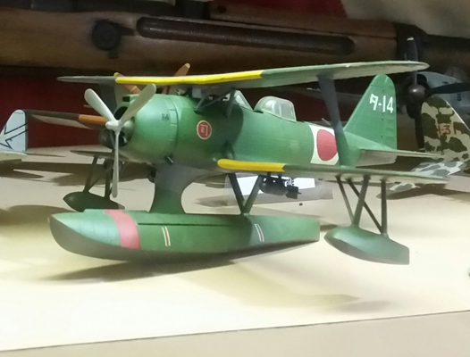 Mitsubishi F1M2 Type Zero Reconnaissance Seaplane (Allied code name Pete) model—Joseph May/ Travel for Aircraft