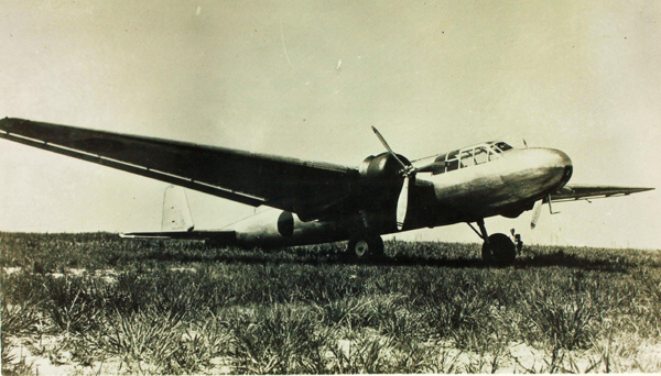 Mitsubishi G3M Type 96 Rikko (Allied reporting name, Nell)—San Diego Air and Space Museum image archive