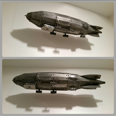 blog collage Graf Zeppelin model
