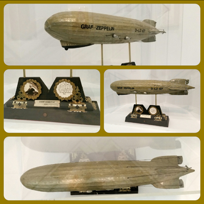 Graf Zeppelin D-LZ model made in 1937—The Wolfsonian–FIU Mitchell Wolsonian Jr. Collection