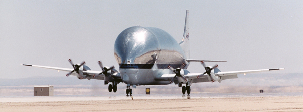NASA Super Guppy NASA image