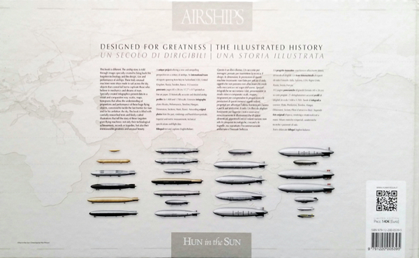 Airships: Designed for Greatness | The Illustrated History (back cover) by Max Punucci