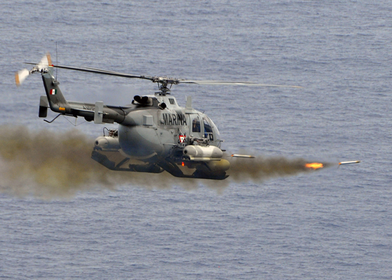 090429-G-6464J-003 ATLANTIC OCEAN (April 29, 2009) A Mexican BO-105 Bolkow helicopter fires 2.75 inch high-explosive rockets at the ex-USS Connolly (DD 979) in a sinking exercise that took place during UNITAS Gold. This year marks the 50th iteration of UNITAS, a multinational exercise that provides opportunities for participating nations to increase their collective ability counter illicit maritime activities that threaten regional stability. Participating countries are Brazil, Canada, Chile, Colombia, Ecuador, Germany, Mexico, Peru, U.S. and Uruguay. (U.S. Coast Guard Photo by Petty Officer Seth Johnson/Released)