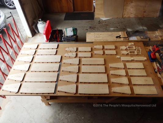 More wooden components for the Wooden Wonder